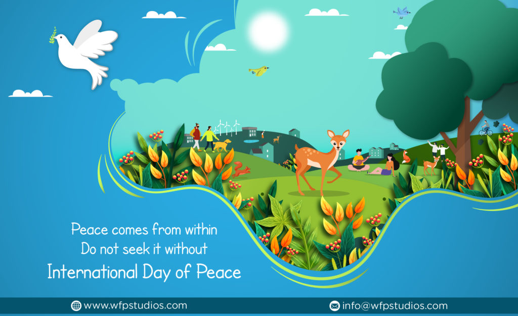 International Peace day, 2019 peace theme,peace activities