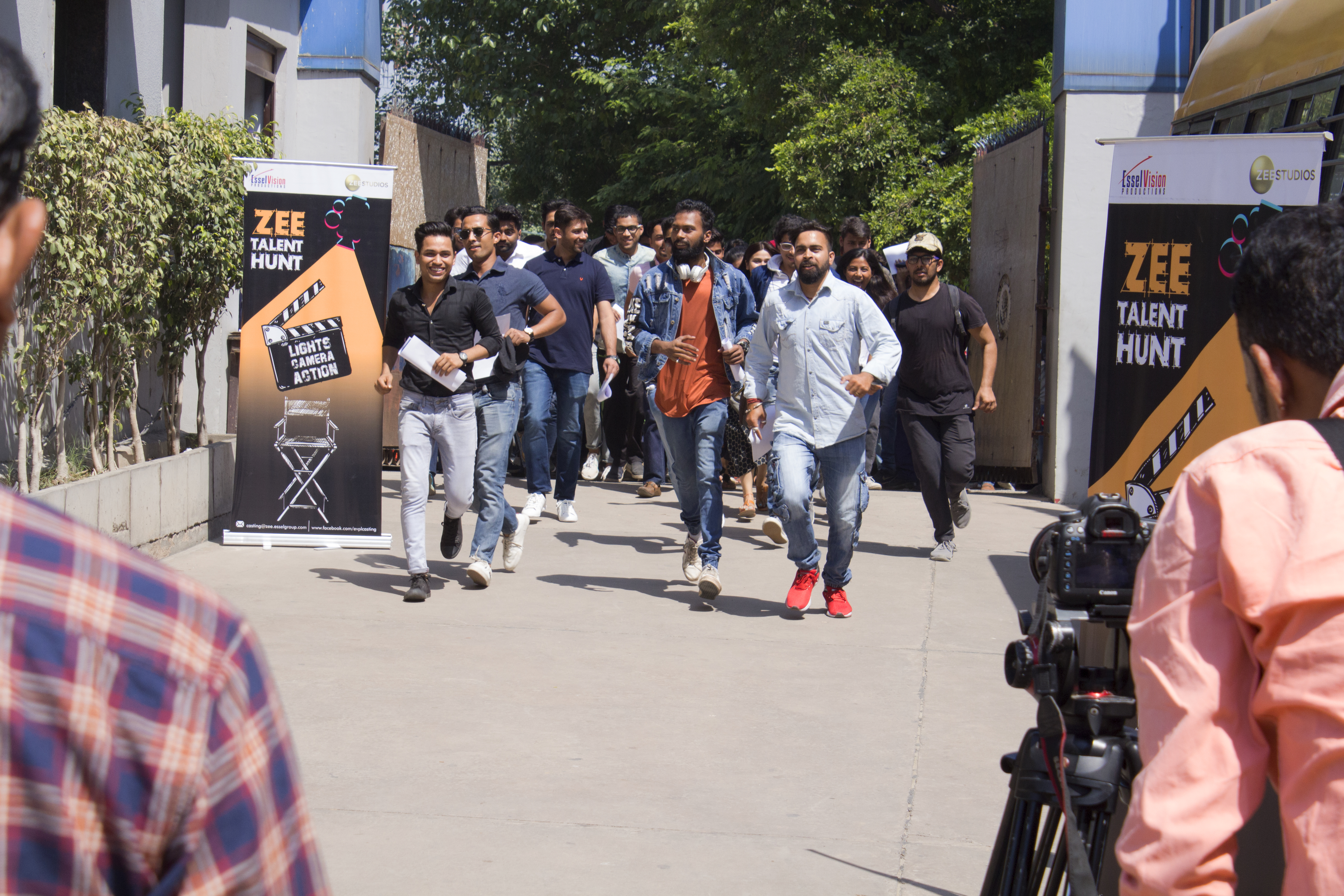 zee auditions